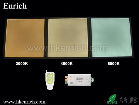 3000k color temperature sell color temperature adjustable led panel 600x600 3000k
