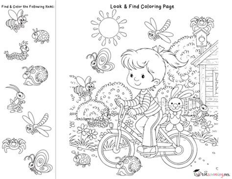 Look And Find Printables