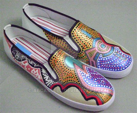 painted shoes owl painted shoes by abcassell on deviantart