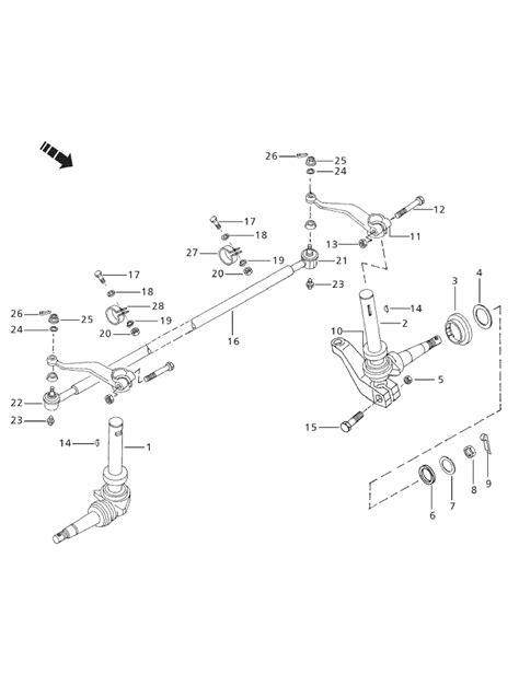 mahindra 3505 di steering front axle parts for 3525 mahindra tractor