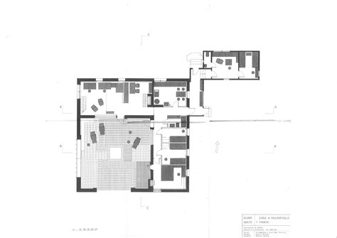 House Plans With Courtyard by Alvar Aalto Muratsaalo Experimental House Western Shore