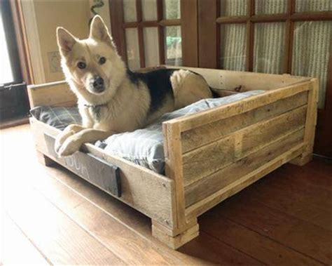 dog bed made from pallets 8 diy pallet beds for dogs iheartdogs com