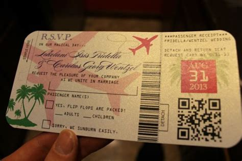 Vanessa S Diy Passport Destination Wedding Invitations Pic Heavy Weddingbee Photo Gallery Passport Wedding Invitation Template