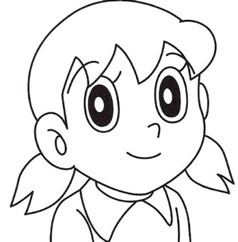 sketsa mewarnai doraemon dan kawan kawan dunia putra putri