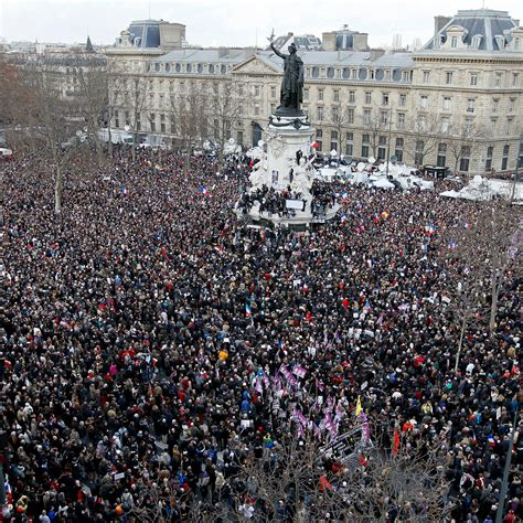massive crowds gather at paris unity rally to honor
