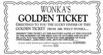 gallery for gt willy wonka golden ticket template full