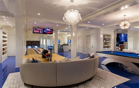 Dream Floor Plans by Hamptons Luxury With Bowling Alley