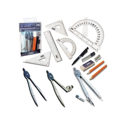 swing compass mr pen compass set with swing arm protractor geometry set