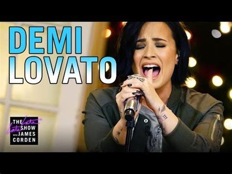 demi lovato stone cold live james corden 17 best images about colin farrell show on pinterest