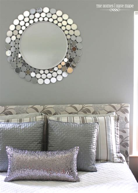 silver mirrors for bedroom a little sparkle in the bedroom the homes i have made