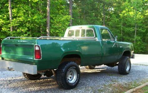 » 1976 dodge d200 power wagon 4x4