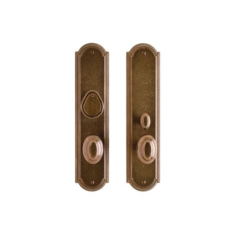 exterior door hardware sets ellis entry set 3 quot x 13 quot entry mortise lock e062 rocky mountain hardware