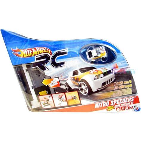wheels racer micro car mattel wheels nitro speeders ford mustang gt radio