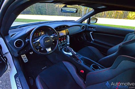 black subaru brz interior 2017 subaru brz limited review test drive
