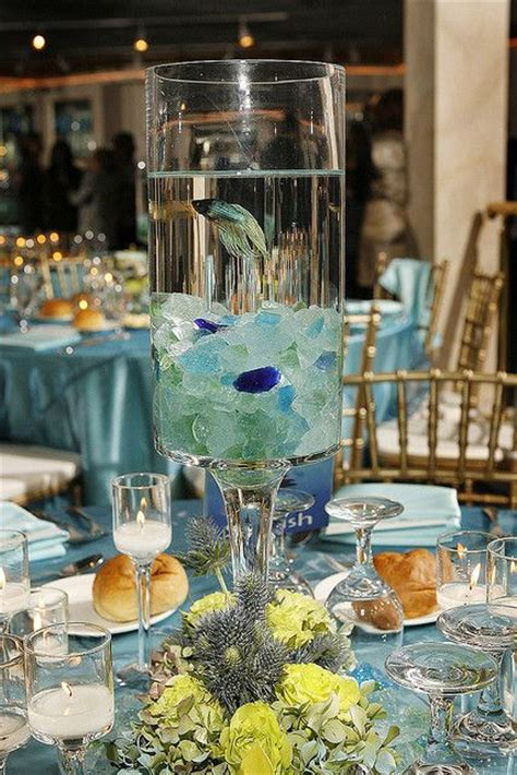 wedding centerpieces with fish 25 best ideas about fish centerpiece on fish bowl centerpieces fish bowl vases and