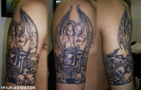imagenes de tatuajes de gargolas tatuaje de una gargola de piedra car interior design
