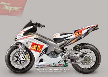 Komstir Yamaha Jupiter Mx yamaha jupiter mx 135 modification motorcycle honda