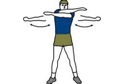 arm swings exercise stretching guide for gymnastics www loptonline com