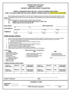 da form 4689 template financial hardshi