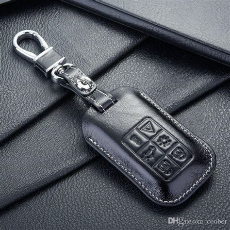 fob leather key fob case cover  auto volvo key case shell key holders wallet bags keychain