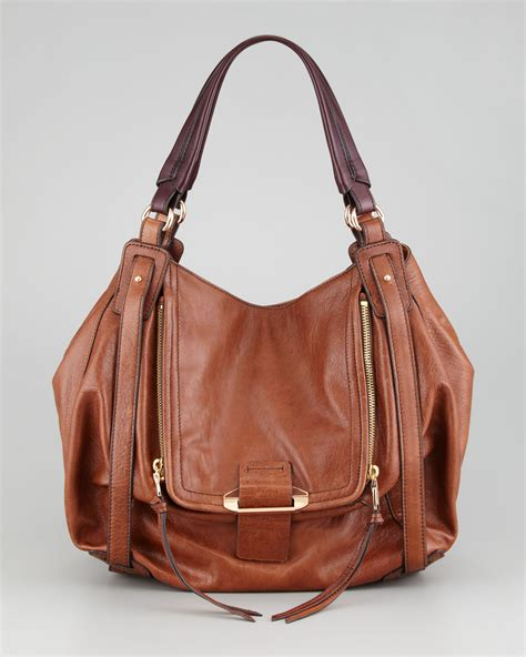 Neiman Sale Continues With Goods From Marc Kooba Tracy 2 by Kooba Jonnie Hobo Bag In Brown Luggage Lyst