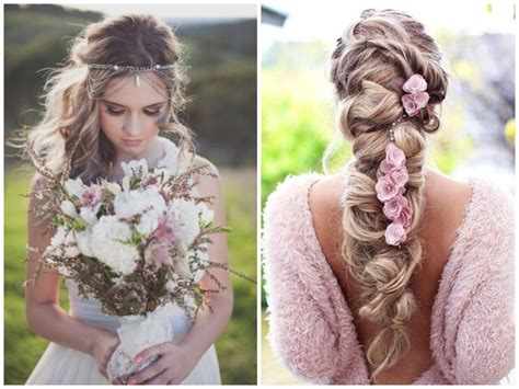 5 Inspired Wedding Hairstyles by 21 Boho Inspired Unique And Creative Wedding Hairstyles