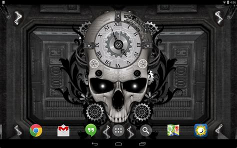live clock themes for android steunk clock live wallpaper download apk for android