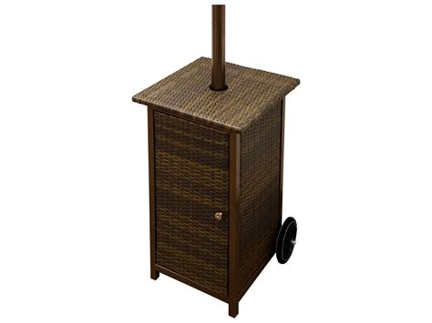 Wicker Patio Heater Az Patio Heaters Square Wicker Heater With Wheels Hlds01 Whsq