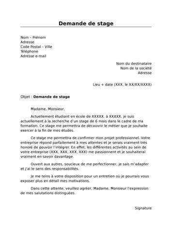 Exemple Lettre De Motivation Formation Afpa modele lettre de motivation pour formation afpa