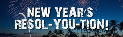 new year resol new year s revol you tion