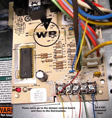 furnace board wiring diagram honeywell ignition