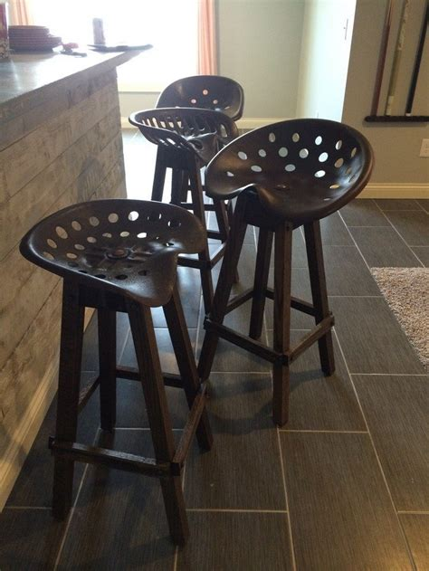 Cheap Kitchen Cabinet Doors tractor seat bar stool diy projects for everyone