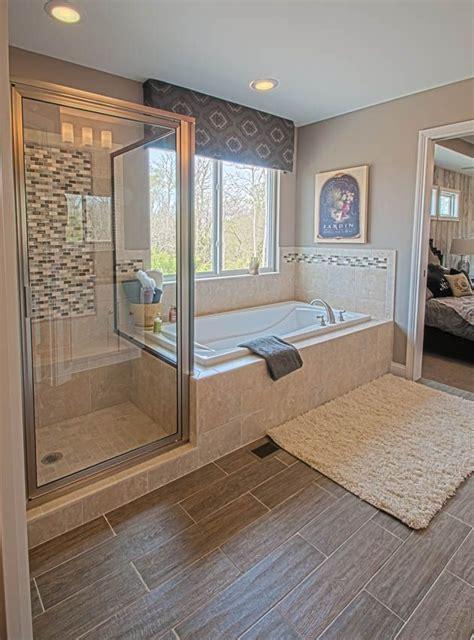 tile work   walk  shower   separate