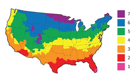 usa map climate zones climate zone map of the united states clipart best