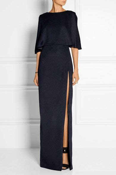 Explore Net A Porter by Cushnie Et Ochs Open Back Stretch Satin Jersey Maxi Dress