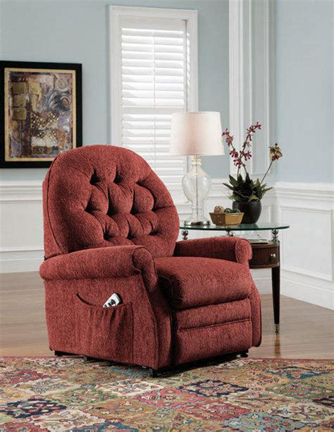 remote control recliners elderly power lift recliner chair for elderly classic red fabric