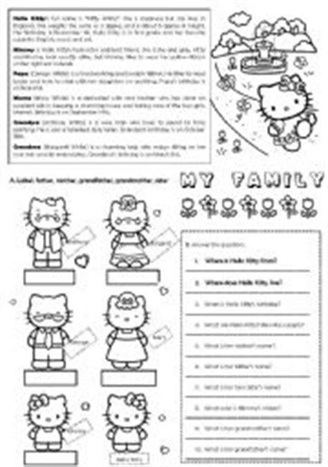 hello kitty printable activity sheets hello kitty 180 s family editable