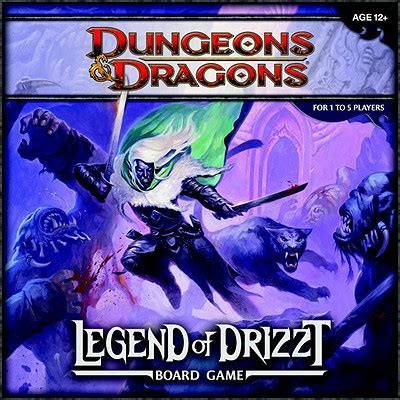 Rpg Gift Cards Check Balance - legend of drizzt board game a dungeons dragons board game by wizards rpg team