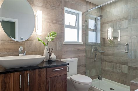 Ideas For Bathroom Renovations by Small Bathroom Renovation Loaded With Style Modern Home