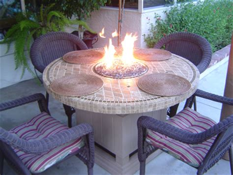 build a gas pit table 17 diy pit ideas for your backyard