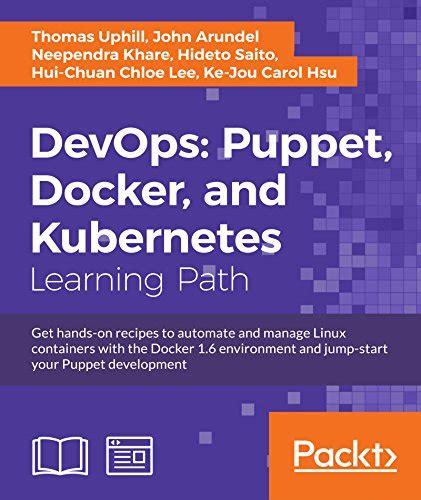 kubernetes in books devops puppet docker and kubernetes pdf free