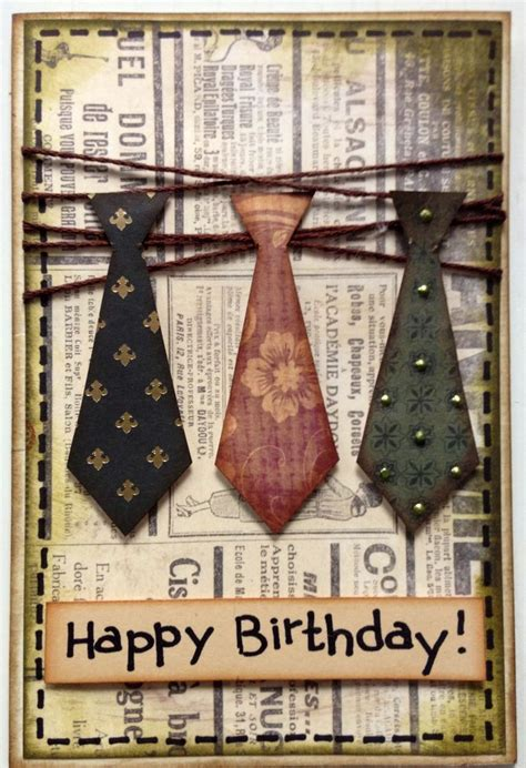 mens birthday cards to make pin by colleen winter on cards masculine