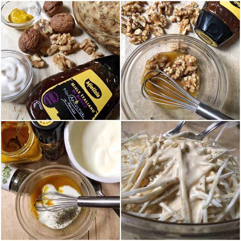 insalata di sedano e noci insalata di sedano rapa con noci al miele la sul