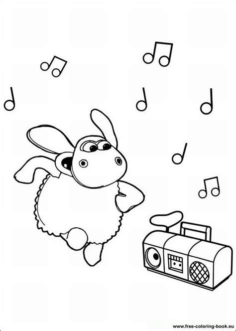 Coloring pages Timmy Time - Page 1 - Printable Coloring