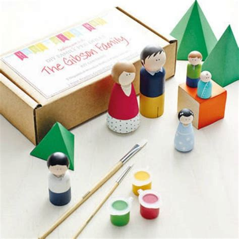 kid craft kit crafts projects features family peg doll