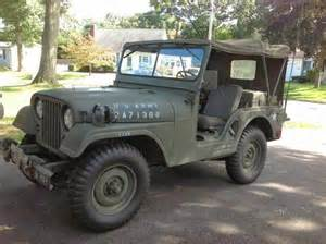 Army Jeep For Sale 1955 Willys M38a1 Army Jeep For Sale 4x4 Cars