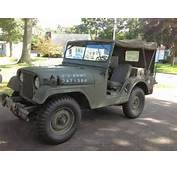For Sale 1955 Willys M38a1 Army Jeep M38 A1