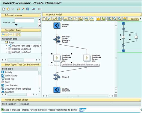 fork step in sap workflow exle implementing parallel processing in workflow