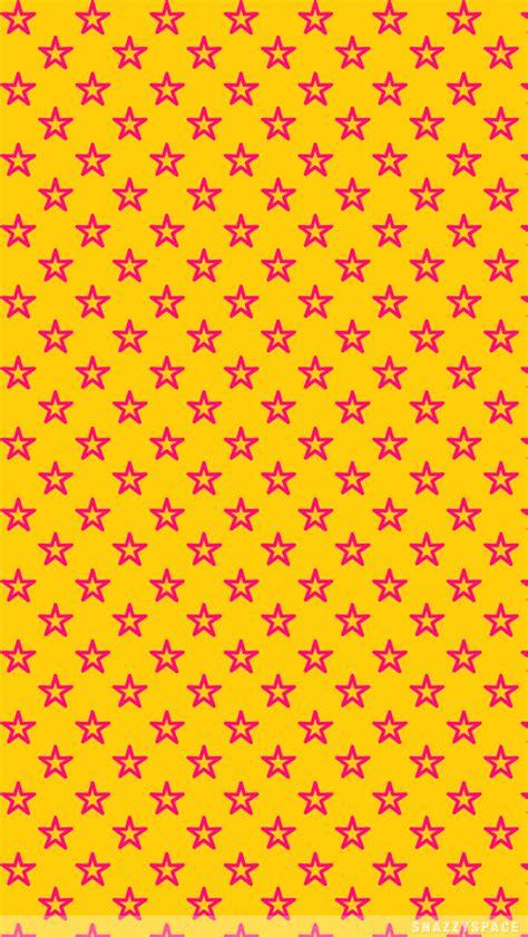 wallpaper pink yellow yellow pink stars iphone wallpaper