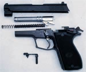 Daewoo Guns Daewoo Dp 51 Pistol Partially Disassembled